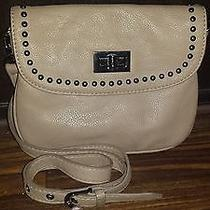 Aldo Beige Cossbody Purse With Studds Photo