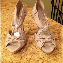 Aldo Beige Nude Suede Heels Photo