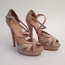 Aldo Beige Summer Strappy Heels Photo