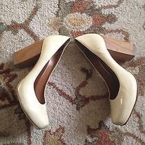 Aldo Beige Wooden Heels Photo