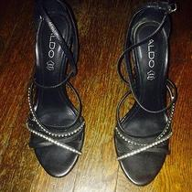 Aldo Black Heels 7 Photo