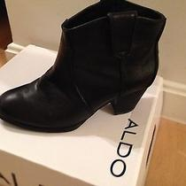 Aldo Black Short Boots 8.5 Photo