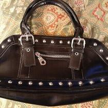 Aldo Black Small Handbag Tote Purse Photo