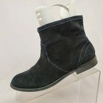 Aldo Black Suede Ankle Fashion Boots Bootie Size 8 M Photo