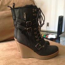 Aldo Black Wedge