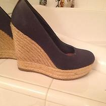 Aldo Blue Demin Wedge Photo