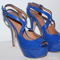 Aldo Blue High Heels Photo