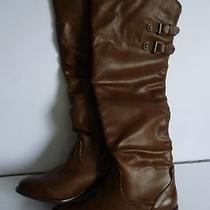 Aldo Boots Cognac(brown). Above knee.great Style  Photo