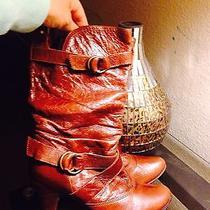 Aldo Boots Cognac Sz 8 Photo