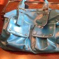 Aldo Brigth Blue Handbag Photo