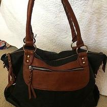 Aldo Brown and Brown Purse Excellent  Condition Photo