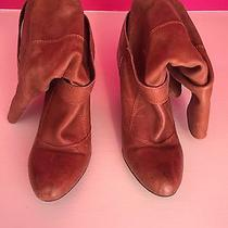 Aldo Brown Leather Boots Photo