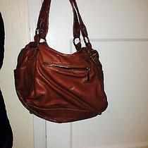 Aldo Brown Leather Handbag Photo
