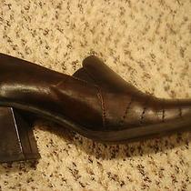 Aldo Brown Oxfords Sz. 8m Gently Worn Genuine Leather   Photo