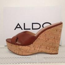 Aldo Brown Wedges 6.5 New With Box  Photo