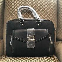 Aldo Champaign Laptop Bag New in Black Photo