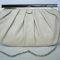 Aldo Clutch Shoulder Bag Nude Medium Size With Removable Chain Strap Clean Photo