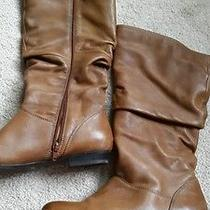 Aldo Cognac Brown Boots 39 Us 8.5 Photo