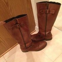 Aldo Cognac Riding Boots Size 41