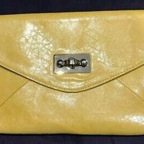 Aldo Crossbody or Clutch Purse Yellow New With Tags Photo