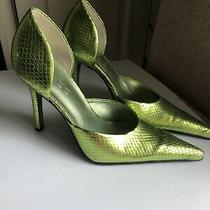 Aldo Dorsay Pumps Slip on Green  Size 35 Eu Photo