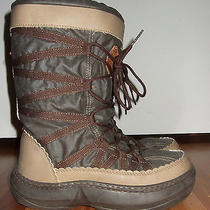 Aldo Dark Gray Snow Boots 37 6 Photo