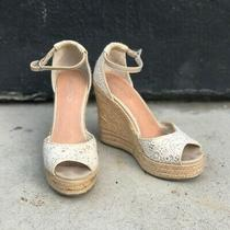 Aldo Espadrille Platform Wedge Size 8 Photo