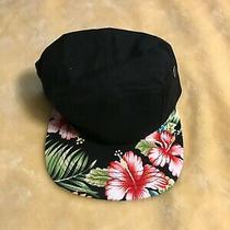 Aldo Floral Print Five Panel Hat Strap Back Hype Summer  Photo