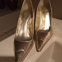 Aldo Gold Pointed Shoes Photo