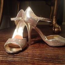 Aldo Gold Sequin Heels Photo