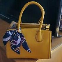 Aldo Handbag Woman New Mustard Yellow Beautiful Purse Photo