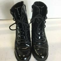 Aldo Heel Boots Black Size 8.5 Photo