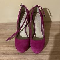 Aldo Heels 6.5 Fuisha Pink Purple Photo
