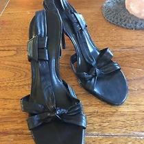 Aldo Heels Black Size 37 (7.5) Photo
