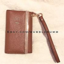 Aldo Iphone 5/s Camel Brown Wallet Wristlet Photo