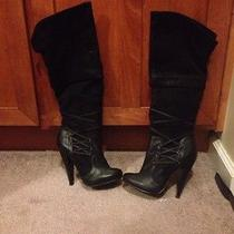 Aldo Knee Hight Boots Retail Price Is 160 Photo