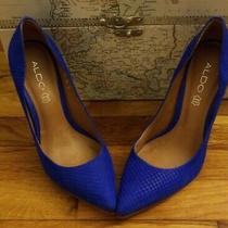 Aldo Kristina Cobalt Blue Pumps Us Size 8.5 Eu 39 Msrp 120.00 Photo