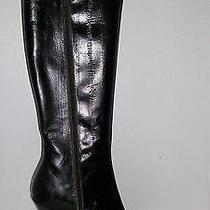 Aldo Ladies Mahogany Brown Knee High Boots  Photo
