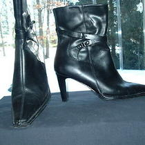 Aldo Leather Ankle Boots Photo