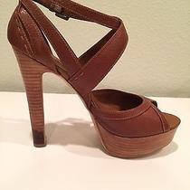 Aldo Leflar Cognac High Heel Sandals Photo