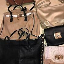 Aldo Lot of (6) Purse/ Handbags Preowned With Flaws Photo