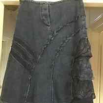 Aldo Marino Size 10/12(m) Denim Skirt Photo