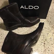 Aldo Men's Brown Boots New in Box Photo