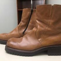 Aldo Mens Size 13/euro Size 45 Boots/shoes Leather Zip--Never Worn Photo