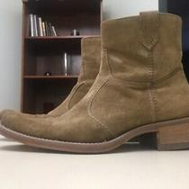 Aldo Mens Size 13/euro Size 45 Boots Suede Leather Zip  Photo