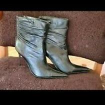 Aldo Metal Heel Boots 6 1/2 Photo