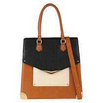 Aldo Muralles Colorblock Shoulder/tote Bag Cognac Photo