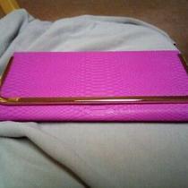 Aldo/noatd 8831628 No. 8833313 Women's Pink/gold Faux Leather Clutch  Photo