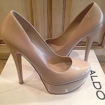Aldo Nude Heels Size 7 New W Box Photo