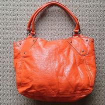 Aldo Orange Tote Bag/pocket Book Photo